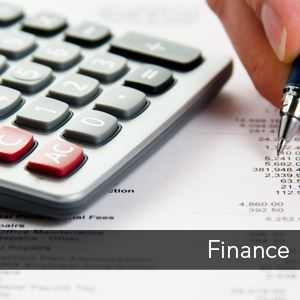 Image Link to the Finance Department