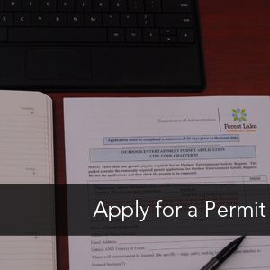 Image Link to Apply for a Permit page